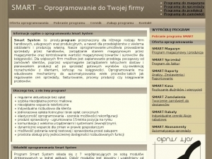 Program do obsługi firmy to System Smart